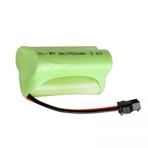 بطارية NiMH قابلة لإعادة الشحن AA2400 3.6 فولت