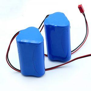 بطارية ليثيوم أيون قابلة لإعادة الشحن 3S1P 18650 10.8 فولت 2250 مللي أمبير في الساعة للأجهزة الطبية
