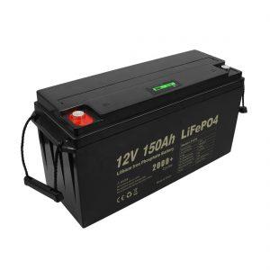 دورة عميقة قابلة لإعادة الشحن Lifepo4 بطارية 12 فولت 150 أمبير 200 أمبير 250 أمبير 300 أمبير