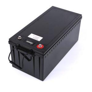حزمة بطارية مخصصة 24V 100AH 12v 200ah lifepo4 حزمة بطارية لتخزين الطاقة الشمسية قارب RV