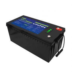 دورة عميقة 12 فولت / 24 فولت / 36 فولت / 48 فولت 200Ah تخزين الطاقة الشمسية UPS 12 فولت LiFePO4 بطاريات تخزين الليثيوم لعربة الجولف
