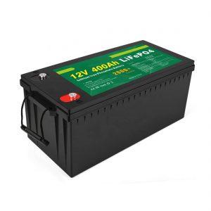 سعر المصنع Deep Cycle Solar LFP Battery 12v 400Ah Solar LiFePO4 Battery
