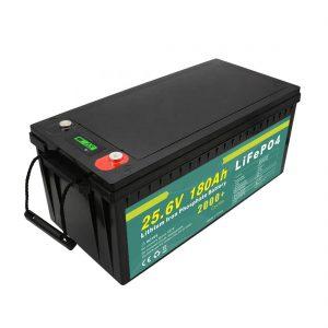 حزمة بطارية قابلة للشحن 24v180ah (LiFePO4) لإضاءة الشوارع بالطاقة الشمسية