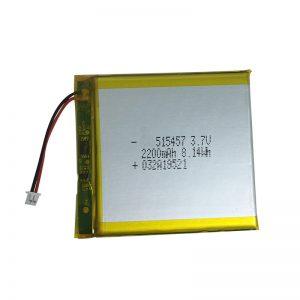 3.7 فولت 2200 مللي أمبير بطاريات ليثيوم بوليمر للأجهزة المنزلية الذكية