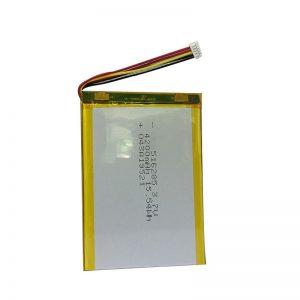 516285 3.7 فولت 4200 مللي أمبير بطارية ليثيوم بوليمر أداة منزلية ذكية