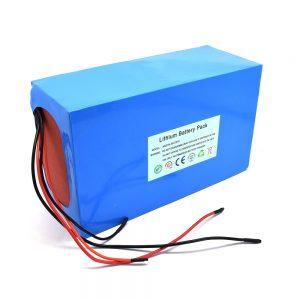 حزمة بطارية ليثيوم 48 فولت / 20 أمبير للسكوتر الكهربائي