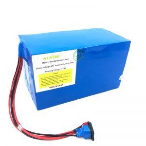 حزمة بطارية ليثيوم مخصصة 18650 48 فولت 40Ah للدراجة الإلكترونية ، القارب الإلكتروني ، سكوتر كهربائي