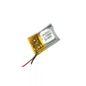 بطارية ليثيوم بوليمر عالية الجودة 3.7 فولت 50 مللي أمبير 581013 بطارية