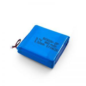 قابلة للشحن 3.7 فولت 450530550700750800900 مللي أمبير بطارية ليبو ليبو