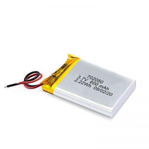 الصين بالجملة 3.7 فولت 600 مللي أمبير 650 مللي أمبير بطارية ليثيوم بوليمر صغيرة قابلة للشحن حزمة لسيارة لعبة