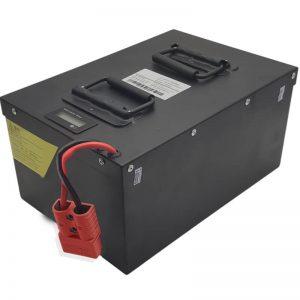الكل في واحد بطارية LiFePO4 عالية السعة 72V60Ah مع BMS ذكي للسيارات الكهربائية