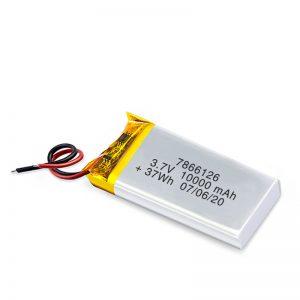 بطارية ليثيوم قابلة للشحن 7866120 3.7 فولت 10000 مللي أمبير / 3.7 فولت 20000 مللي أمبير / 7.4 فولت 10000 مللي أمبير