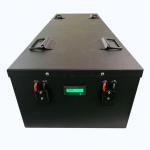 حزمة بطارية ليثيوم أيون lifepo4 48v 200Ah للسيارة الكهربائية الشمسية