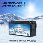 تقديم بطاريات فوسفات الحديد الليثيوم ذات درجة الحرارة المنخفضة ALL IN ONE