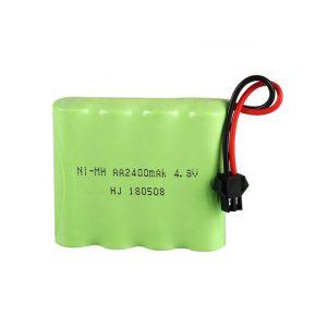 بطارية NiMH قابلة لإعادة الشحن AA2400mAH 4.8V