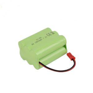 بطارية NiMH قابلة لإعادة الشحن AA 1800 مللي أمبير 7.2 فولت