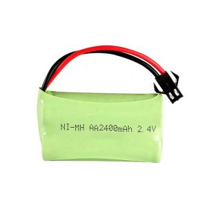بطارية NiMH قابلة لإعادة الشحن AA2400mAH 2.4 فولت