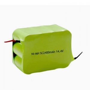 بطارية NiMH قابلة لإعادة الشحن SC 2400mAH 14.4V