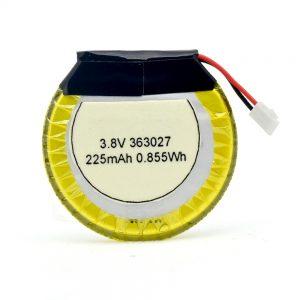 بطارية ليثيوم مخصصة 363027 3.7 فولت 225 مللي أمبير