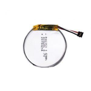 LiPO بطارية مخصصة 46350 3.7 فولت 350 مللي أمبير ساعة ذكية بطارية 46350 صغيرة مسطحة مستديرة بطارية ليثيوم بوليمر للعب